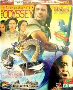 The Odyssey Armand Assante Homer Epic Fantasy 3 VCDS