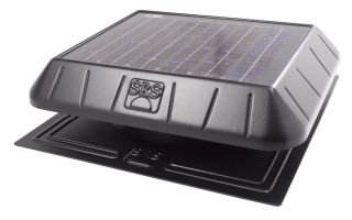 Sunrise Solar Attic Vent Fan 11 Watt Panel Flat Base FB850