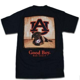 Auburn Tigers T Shirts Mans Best Friend Good Boy T Shirt Color Is