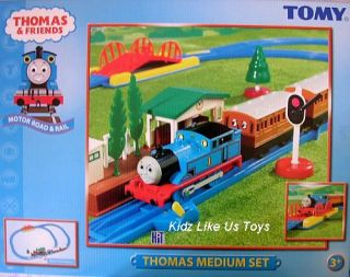 Thomas The Tank Medium Train Set Tomy