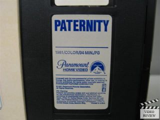 Paternity VHS Burt Reynolds, Beverly DAngelo, Norman Fell