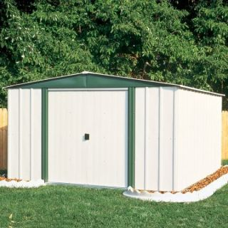 Arrow Buildings SR68206 Gable Steel Lawn Building 10 ft x 6 ft