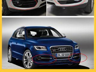 For 2010 2011 2012 Audi Q5 Chrome Fog Light Cover Trim Exterior 2P Set