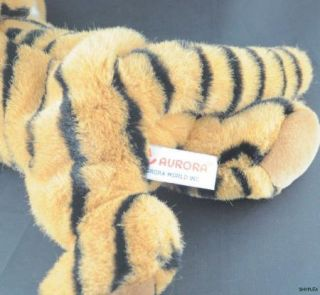 Tiger Cub Plush Stuffed Animal Cute Baby Aurora World Soft Toy