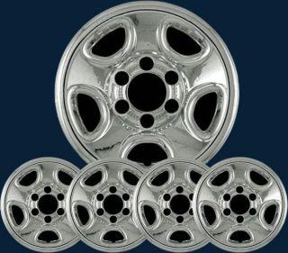 99 08 Chevrolet Silverado Astro GMC Sierra Chrome Wheel Skins Imp 08X