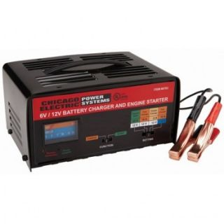 New 6 12V Automotive Battery Charger Starter Booster