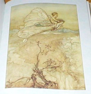 Arthur Rackham 24 Col Plates A Midsummer Nights Dream Shakespeare HB