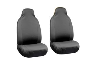 PU Faux Leather High Back Front Bucket SUV Auto Seat Covers