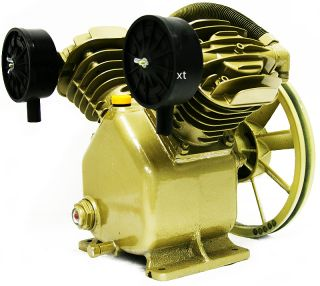 PSI Dual Cylinder HD Air Compressor Pump Automotive Business