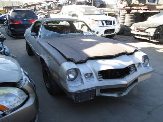Chevrolet Camaro Car For Parts Door Fender Hood Trunk Bumper Headlight