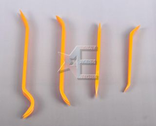4pcs Car Door Plastic Trim Panel Dash Installation Removal Pry Tool
