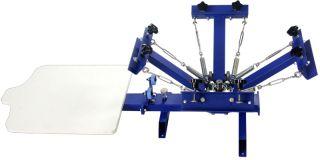 Colors Silk Screen Printing Machine Press Equipment Screen T Shirts