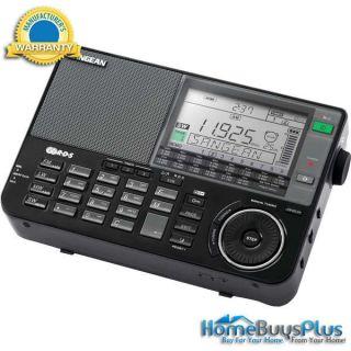 Sangean ATS 909X BK Professional Multi Band Am FM SW Receiver Black