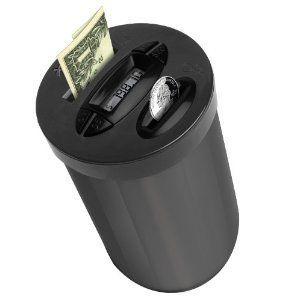 Coin Jar Money Change Dollar Bank Car Truck Auto SUV Cup Holder