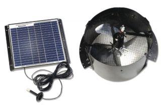 New Gable Mount Solar Powered Attic Fan Ventilator Roof Vents 1 250 Sq
