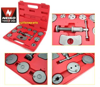 Auto Disc Brake Caliper Wind Back Tool Set Professional