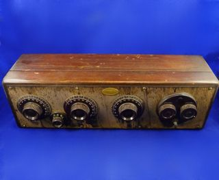 Vintage Atwater Kent Receiving Set Radio Model 20 Original 1925 Tube