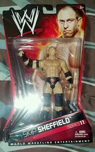 WWE RYBACK SKIP SHEFFIELD ACTION FIGURE NEW IN BOX MATTEL SERIES 11