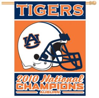 Auburn Tigers National Champs Championship Banner Flag