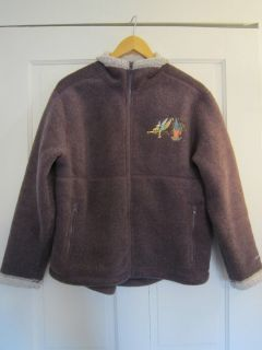 Walt Disney World Fleece Jacket with Warm Pile Lining Tinkerbell Size