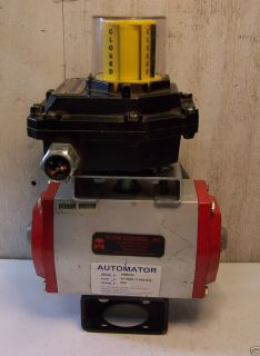 Automator SRB092 Pneumatic Valve Actuator with Sentinel Positioner