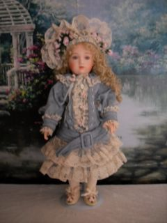 21 Antique Reproduction Patricia Loveless French Doll Genevieve 210