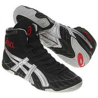 Asics Dan Gable Ultimate Wrestling Shoes Size 11 Black