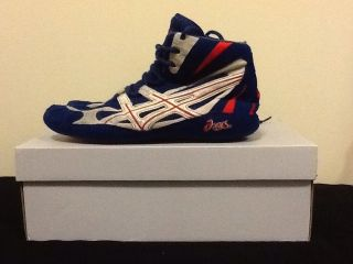 RARE Mens Asics Dan Gable Ultraflex Wrestling Shoes Size 10 10 5