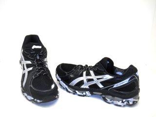 ASICS Mens GEL Nimbus 13 Running Shoe Black/Silver Size 12 NWD