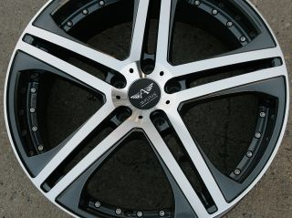 Avarus AV7 20 Gunmetal Rims Wheels Ford Fusion 06 Up 20 x 8 5 5H 35