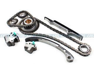 98 01 Nissan Altima 2 4L DOHC Engine Timing Chain Kit Water Oil Pump