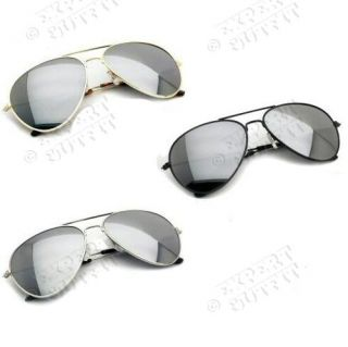 12 Lot Assorted Mirror Aviator Sunglasses Brand New Wholesale CLOSEOUT