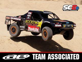 Team Associated SC8e 4WD RTR Electric Truck Rockstar Makita 80932