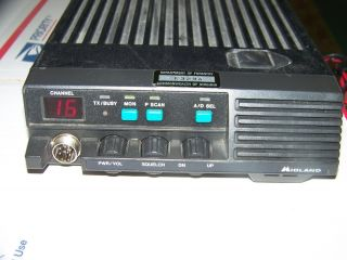 Midland XTR VHF 16 Channel 148 174 MHz 40 w Model 70 1342B