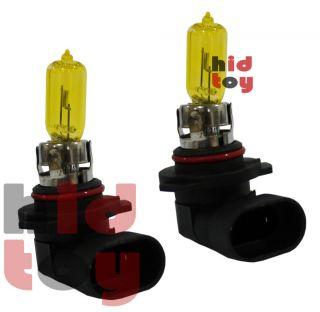 9005 HB3 Yellow Xenon Halogen 12V Headlight #ae1 High Beam Light Aue58