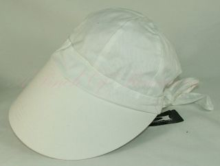 August Accessories Bow Basics Framer Big Visor Brim Hat