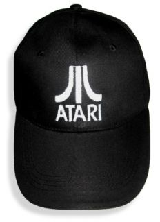 Atari Logo Embroidered Cap or Hat 2600 Pong Jaguar Lynx