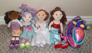 Girls Groovy Girl lot 4 dolls Jet Ski BRIDE AYANNA BELISIMA RUBY MAE