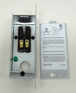S97006057 Broan Bi Metal Attic Fan Thermostat Control With Housing