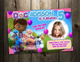 Birthday Party Invitation Card Custom Invites Baby Shower