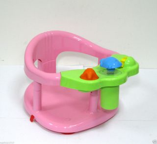 Splash toy baby bath seat ring by keter pink color