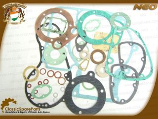 Royal Enfield Complete Engine Overhaul Gasket Kit 500cc Brand New