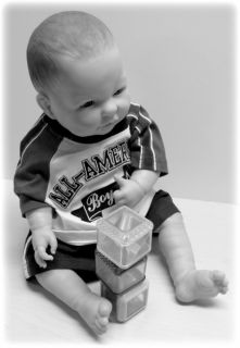 REALISTIC SITTING BERENGEUR BABY BOY DOLL ANATOMICALLY CORRECT GREAT2