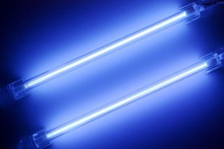 2X Blue 15cm Car Auto Exterior Interior Neon Light Lamp