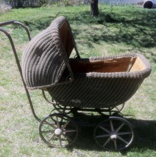 Antique Baby Carriage Vintage Baby Stroller