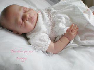 Prototype Reborn Baby Girl by Baby Art OOAK Newborn Then There Was