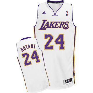 Los Angeles Lakers Kobe Bryant White Swingman Jersey sz Large