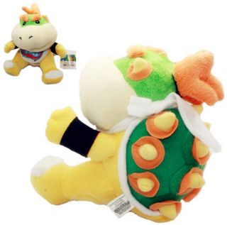 Nintendo Super Mario Bros Baby Bowser Jr Koopa Jr Plush Soft Doll