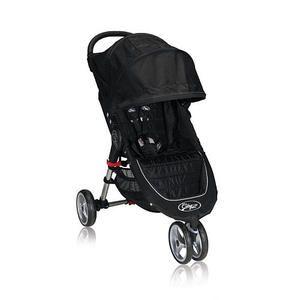 Baby Jogger City Mini Single Stroller Black Gray