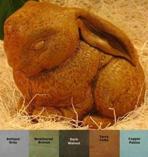 Lop Ear Bunny Rabbit Baby Figure Statue Accent Outdoor Garden Cast